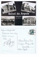 ARPAIA ( BENEVENTO - SALUTI - VEDUTINE - STAZIONE FERROVIARIA -FOTO RUGGERO 1967 - Benevento