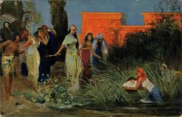 L´ HISTOIRE SAINTE   ANCIEN  TESTAMENT   MOISE  DECOUVERT ET ADOPTE´ PAR LA FILLE DE PHARAON   (NUOVA) - Non Classificati