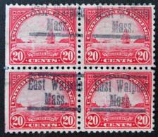 LA PORTE D'OR A SAN FRACISCO 1922 - BLOC DE QUARTRE OBLITERE - YT 242 - MI 279A - United States