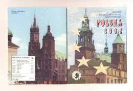 Plaquette Essais   -    Pologne  2004   -     20000 Expl. - EURO