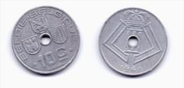 Belgium 10 Centimes 1941 BELGIE-BELGIQUE WWII Issue - 02. 10 Centimes