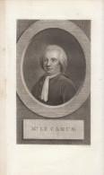 18ème - Gravure Sur Cuivre - Portrait De Armand-Gaston Camus (Paris 1740 - Montmorency 1804) - FRANCO DE PORT - Estampes & Gravures