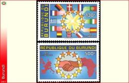 Burundi 1020 &21**  Marche Europeen MNH - Burundi