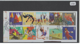 GB 2011 Olympic & Paralympic Games London 2012 USED On Piece - 1952-.... (Elizabeth II)