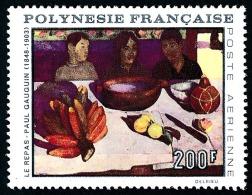 POLYNESIE 1968 - Yv. PA 25 ** TB  Cote= 53,00 EUR - Tableau 'Le Repas' De Paul Gauguin ..Réf.POL22793 - Poste Aérienne