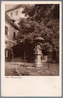 1722 - Ohne Porto - Alte Ansichtskarte - Ferdi Emmerling - Die Naturfreunde Tiefdruck Schattiger Winkel - N. Gel - Sculptures