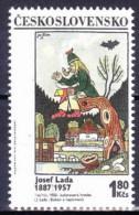 ** Tchécoslovaquie 1970 Mi 1937 (Yv 1781) Avec Varieté, Position 24/1, (MNH) - Variétés Et Curiosités