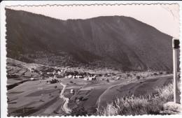 CPSM SAINT DALMAS VALDEBLORE VUE GENERALE ET LA FORET NOIRE 1957 - Autres Communes