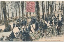 LES VOSGES - Nos Soldats Au Bivouac - France