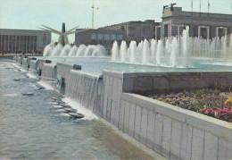 Belgica--Bruxelles--1958--Les Fontaines De La Place De Belgique - Exposiciones Universales