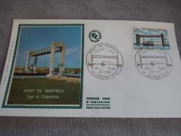 FDC  Pont De Martrou - Rochefort 20/07/1968 - FDC