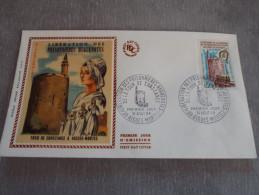 FDC  Libération Des Prisonnières Huguenotes - Aigues Mortes 31/08/1968 - FDC