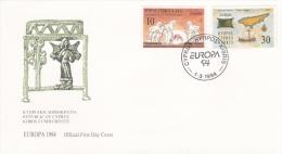 Cyprus FDC 1994 Europa CEPT (G83-68) - 1994