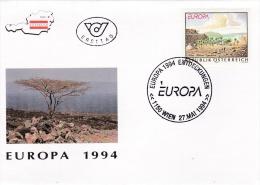 Austria FDC 1994 Europa CEPT (G83-68) - 1994