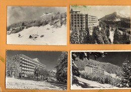 Suisse Vaud Leysin Lot De 4 Cartes Postales Du Club Med Club Mediterranée - VD Waadt