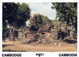 1 AK Kambodscha Cambodia * Tempel Ta Som - Provinz Siem Reap - Erbaut Im 12. Jh. - Kambodscha