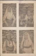Macedoine- Carte Photo - Portraits De Femmes - 3 Scan - Macédoine