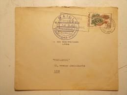 Lettre Enveloppe Cachet Obliteration - LYON TERREAUX 31/12/1957 En 1958 Lyon A 2000 Ans (19) - Postmark Collection (Covers)