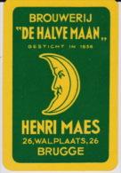 Joker. Brouwerij DE HALVE MAAN. Henri Maes, Brugge (1) - Autres