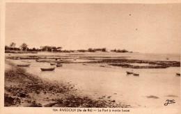 RIVEDOUX  (Ile De Ré)  -  Le Port à Marée Basse - Ile De Ré