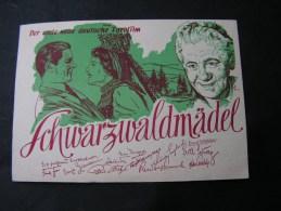 == Film , Erster Ddeutscher  Farbfilm Plakat Karte  SST Frankfurt 1950 - Posters On Cards