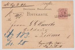 DR. 1876, Selt. Bahnpost - L3  , #5255 - Deutschland