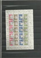 1998 USED Liechtenstein Sheet, Gestempeld - Blocks & Sheetlets & Panes