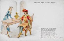 CPA Publicité Publicitaire Art Nouveau Non Circulé Saint GALMIER Source BADOIT - Werbepostkarten