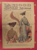 Revue La Mode Du Petit Journal. Supplément  N° 27 De 1904. Couverture En Couleur - Mode
