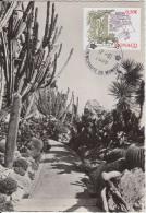 Carte-Maximum MONACO N°Yvert 2630 / Le Jardin Exotique - Maximum Cards