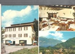 GRANDOLA ED UNITI,ALBERGO MERLONI,PANORAMICA.- VIAGGIATA..1983-FG-C1984-T - Hoteles & Restaurantes
