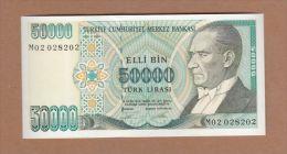 AC - TURKEY - 7th EMISSION 50 000 TL M 02 02 82 02 UNCIRCULATED - Turchia