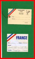 Quatre Documents FFR. - Rugby