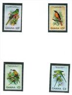 GHANA 1981 OISEAUX  Yvert N°700/03  NEUF MNH** - Oiseaux