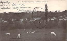58 - Billy-Chevannes - Le Village De Nanteuil (troupeau De Bovins, Vaches) - Other Municipalities