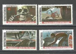 BOPHUTHATSWANA, 1978,  Road Safety,  Dont Drink And Drive, Observe Signal, Set 4 V,  MNH, (**) - Bophuthatswana