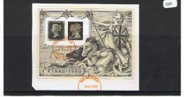 GB 1990 Penny Black Miniature Sheet USED - 1952-.... (Elizabeth II)
