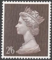 Great Britain. 1969 QEII. Machin High Value. 2/6 MH. SG 787 - Machins