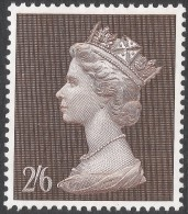 Great Britain. 1969 QEII. Machin High Value. 2/6 MH. SG 787 - 1952-.... (Elizabeth II)