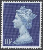 Great Britain. 1969 QEII. Machin High Value. 10/- MH. SG 789 - 1952-.... (Elizabeth II)