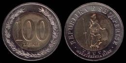 Albania Coin 100 Leke, 2000. Bimetalic Teuta, The Illyrian Queen. BU, UNC Or FDC - Albania