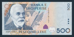 Albania 500 Leke Paper Money, Banknote Of 2007, Pick 72. UNC - Albanie