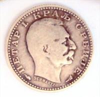 Serbia Silver Coin 50 Para, 1915. - Serbie