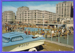Carte Postale 76. Le Havre  La Piscine De La Porte Océane    Très Beau Plan - Le Havre