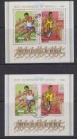 Burundi 1968 Olympic Games Mexico  2 M/s Perforated + Imperforated  Used (27621) - Burundi