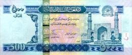 AFGHANISTAN P. 76b 500 A 2010 UNC - Afghanistán