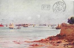 Les Sites De France, Illustration Par Eugène Bourgeois - Bretagne: Rade De Lorient Vue De Port-Louis - Lorient