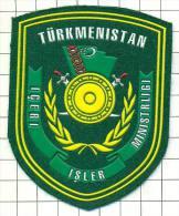 Ecusson / Patch / Toppa / Parche. Army. Turkmenistan. Asia - Patches
