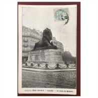 Collection Petit Journal  Paris  Le Lion De Belfort - Statues