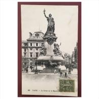 Paris  La Statue De La République  96 LL - Statues